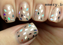 Shattered Glass Manicure
